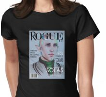 Solas vogue coverboy Womens Fitted T-Shirt