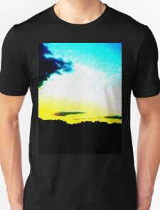 White Sunset Unisex T-Shirt