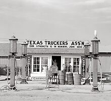 Texas Truck Stop, 1939 by historyphoto