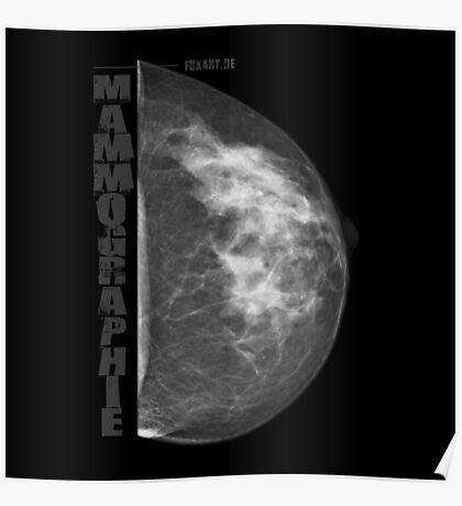 Mammographie - Screening Poster