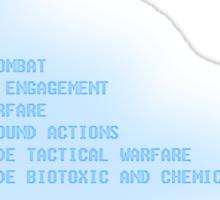 Globalthermonuclear War Sticker