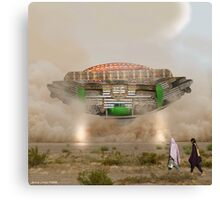 Just Another Wonderful Day in Grand Cholistan Canvas Print