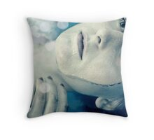 The Cold Welcomes Me Throw Pillow