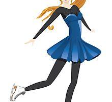 Figure Skater by AnnArtshock