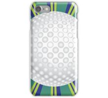 Golf Ball Background iPhone Case/Skin