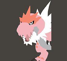 Pink Tyrantrum by snevans