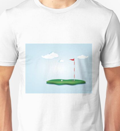 Golf Field 2 Unisex T-Shirt
