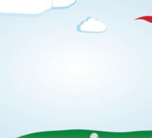 Golf Field 2 Sticker