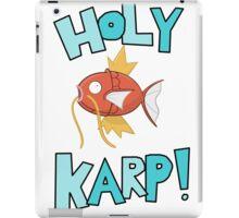 Holy Karp! iPad Case/Skin