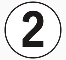 2, Second, Number Two, Number 2, Racing, Two, Competition, on Navy Blue Kids Clothes