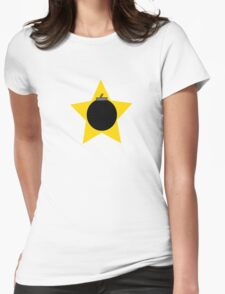 Bomb Star Womens Fitted T-Shirt