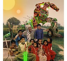 Karachi Kickbots are a Family's Best Friend Photographic Print