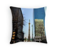 Norfolk Buildings Throw Pillow