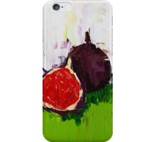 Figs in the Hall iPhone Case/Skin