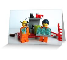 Breaking bad lego  Greeting Card