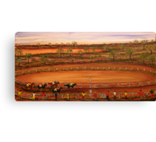 "Australia ""Outback Race Day""   Original Painting Sold Canvas Print"
