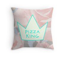 Pizza King  Throw Pillow
