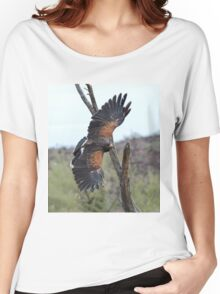 Harris Hawk Hunting Women's Relaxed Fit T-Shirt