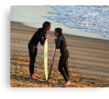 """A Surfing Daydream"" Canvas Print"