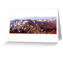 Mountains.1 Greeting Card
