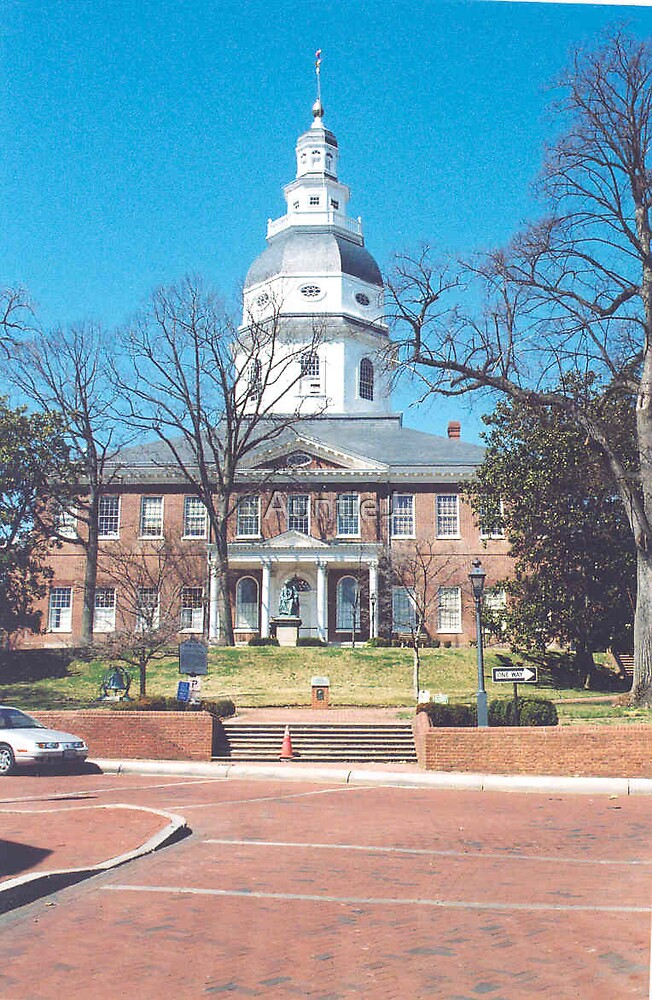 Maryland State House by AuntieJ