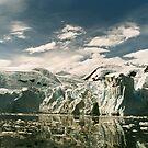 Antarctic Glacier by Steve Bulford