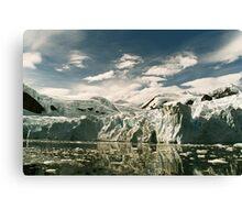 Antarctic Glacier Canvas Print