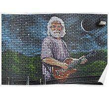 Graffiti Jerry Poster