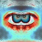 Exotically Wicked Games - Funky Eyeball art by Barberelli