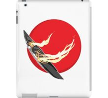 Crippled Starship iPad Case/Skin