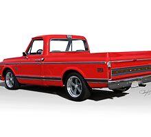 1969 Chevrolet CST10 Pickup 'Studio II' by DaveKoontz