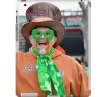 St. Patrick's Day Parade - People   Center Moriches, New York iPad Case/Skin