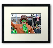 St. Patrick's Day Parade - People | Center Moriches, New York Framed Print