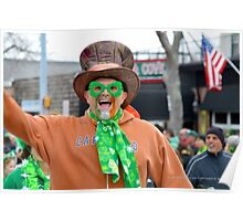 St. Patrick's Day Parade - People | Center Moriches, New York Poster