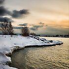 Winter Lake by RBFoto