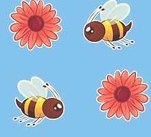 Bee | Pattern by Liciajewel