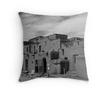 Taos Pueblo, New Mexico Throw Pillow