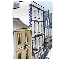 Agincourt Square Buildings - Monmouth Poster