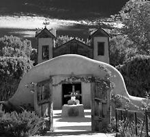 Santuario de Chimayo Shrine, Chimayo, New Mexico by Tomas Abreu