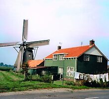 DUTCH WINDMILLS 05 by RainbowArt