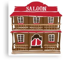 Saloon Canvas Print