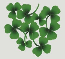 Bunch of Shamrock for Saint Patrick's Day by Orla Cahill