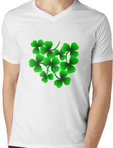 Bunch of Shamrock for Saint Patrick's Day Mens V-Neck T-Shirt