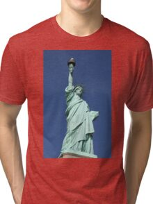 Statue of Liberty, New York Tri-blend T-Shirt