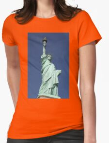 Statue of Liberty, New York Womens Fitted T-Shirt