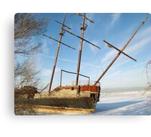 Jordan Station Shipwreck Canvas Print