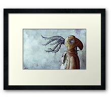 Octopus Man Framed Print