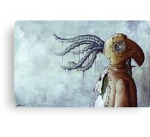 Octopus Man Canvas Print