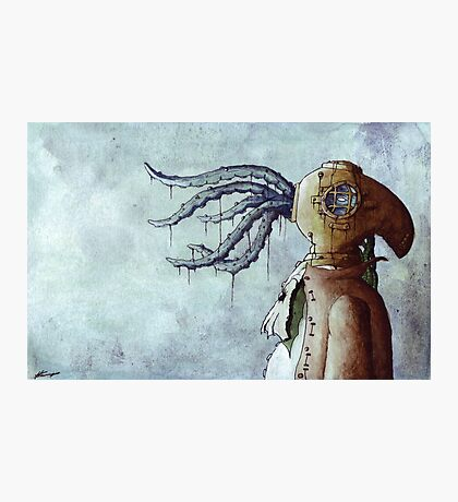 Octopus Man Photographic Print