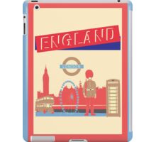 London England UK iPad Case/Skin